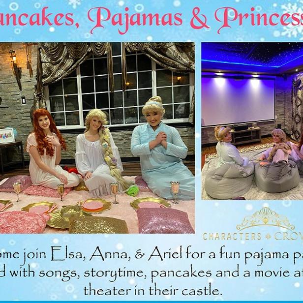 Pancakes, Pajamas and Princesses