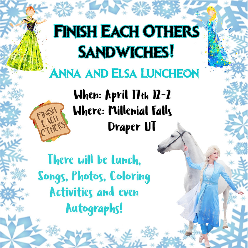 Finish Each others Sandwiches