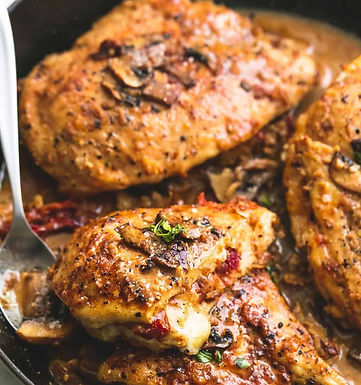 Stuffed Redemption Chicken