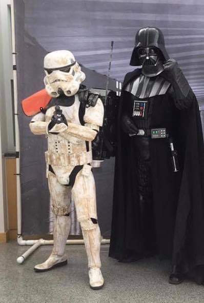 Darth Vadar & Storm Trooper