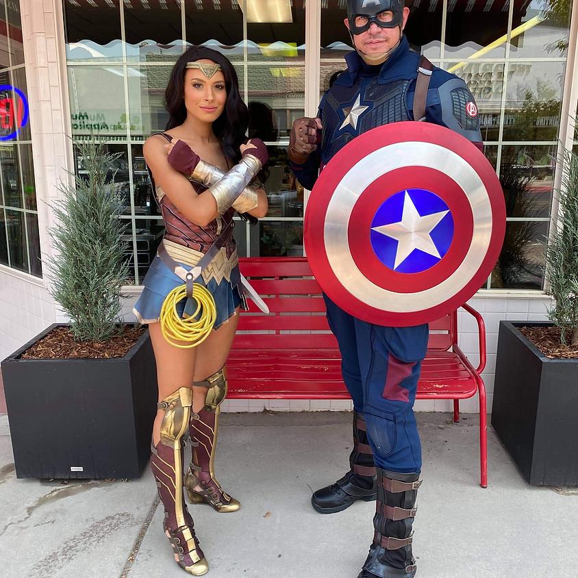 Super Hero Training Clinic
