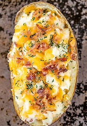 Twice baked Crack Potatoes