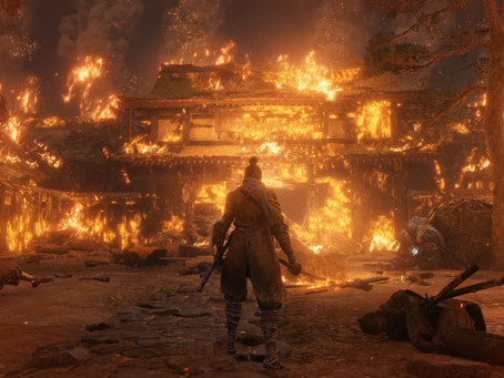 Sekiro: Shadows Die Twice (within the first five minutes)