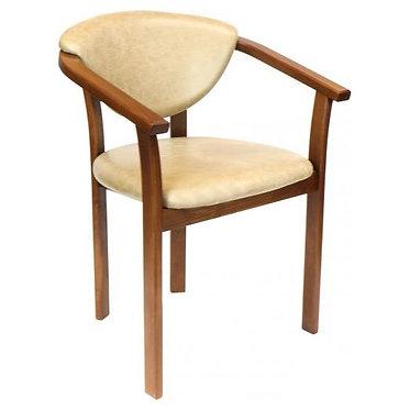 Кресло №1 мягкая спинка  массив бука