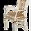 Thumbnail: Кресло №20 массив бука