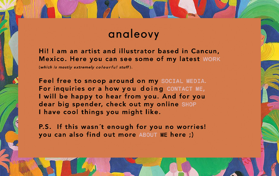 ana leovy best portfolio websites