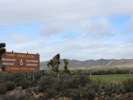 Camp Pendleton Sign