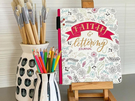 Faith & Lettering Journal = Great blend of Art