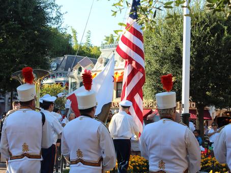 Disneyland Flag Ceremony