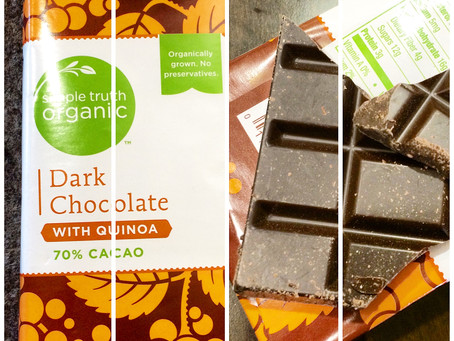 Chocolate with Quinoa = Sweet Surprise