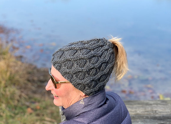 Slope Side Messy Bun Hat