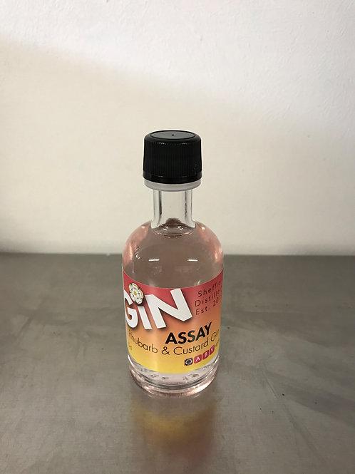 Assay Rhubarb and Custard Gin Miniature 5cl