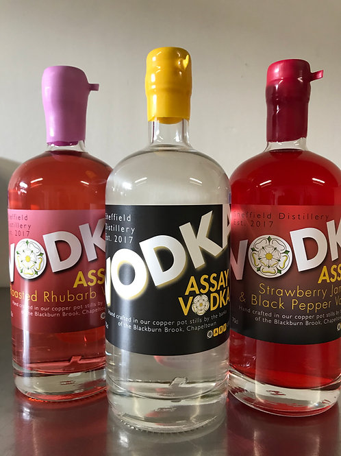 Private Assay Vodka Tasting for 2 People
