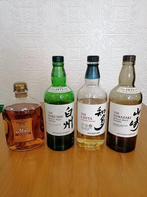 Japanese Whisky Tasting Set for 2