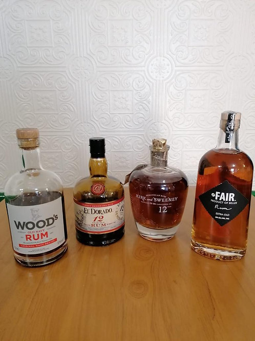 Dark Rum Party Pack for 2