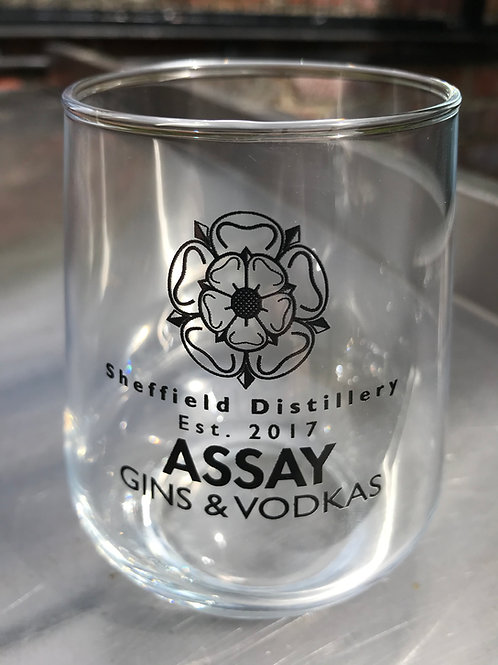 Assay Branded  15oz Highball Glass