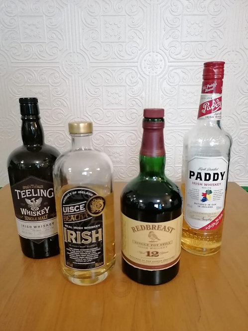 Irish Whisky Tasting Set for 2