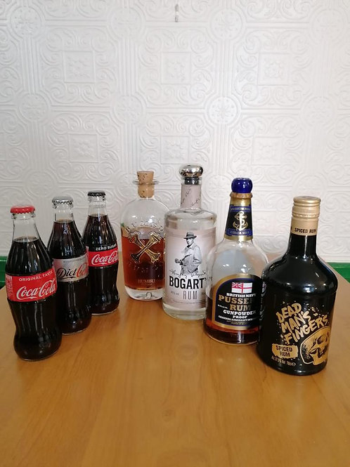 Mixed Rum Party Pack for 2