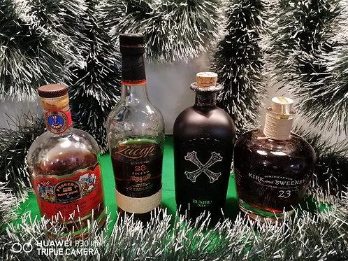 Premium Dark Rum Tasting Set for 2