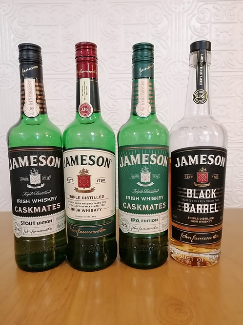 Jameson's Irish Whiskey Flight