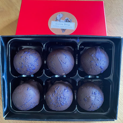Assay Liquorice Gin Dark Chocolate Truffles by Cocoa Drop