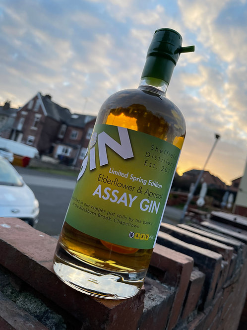 Assay Elderflower and Apricot Gin- Spring Limited Edition