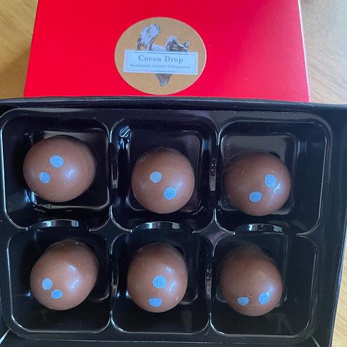 Assay London Dry Gin Milk Chocolate Truffles by Cocoa Drop