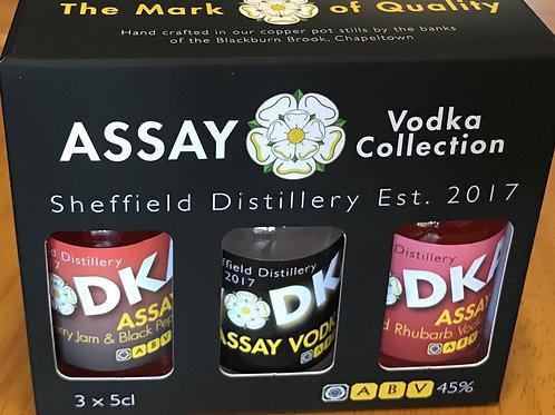Assay Vodka Tasting Set (3x5cl)