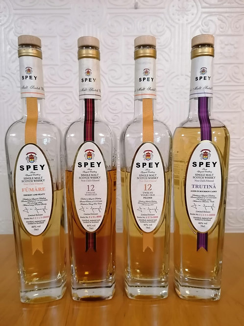 Spey Distillery Single Malt Tasting Flight
