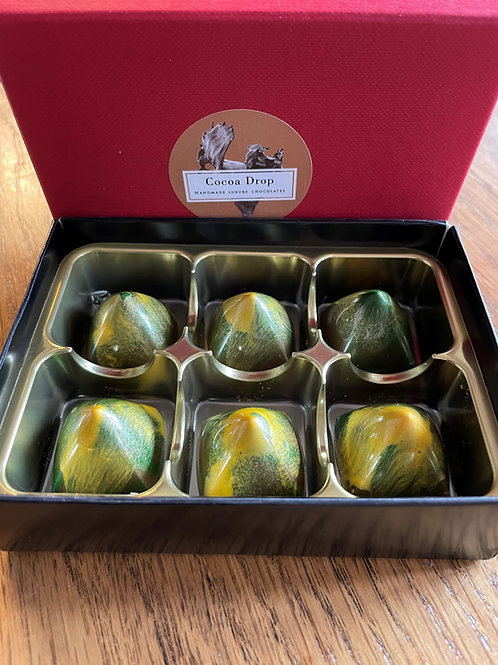 Assay Elderflower & Apricot Gin Chocolate Truffles by Cocoa Drop
