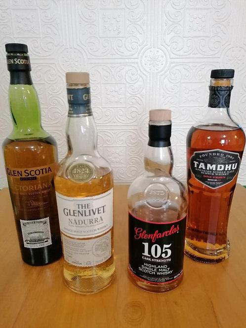 Cask Strength Whisky Tasting Set for 2
