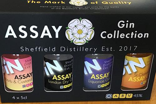 Assay Gin Tasting Set (4x5cl)