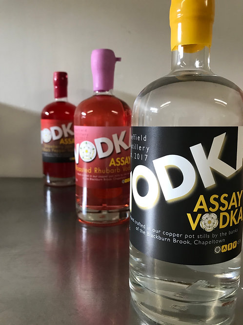Private Assay Vodka Tasting for 6 People