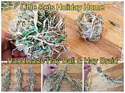 Hay Ball and hay braid