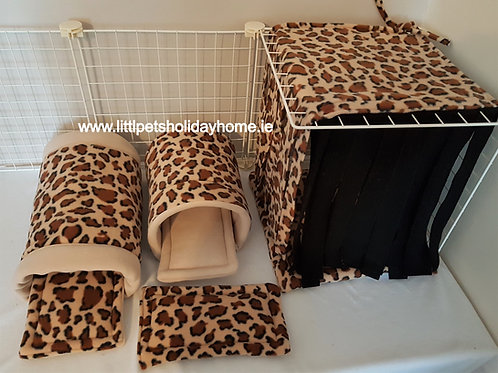 Leopard set - 7 items