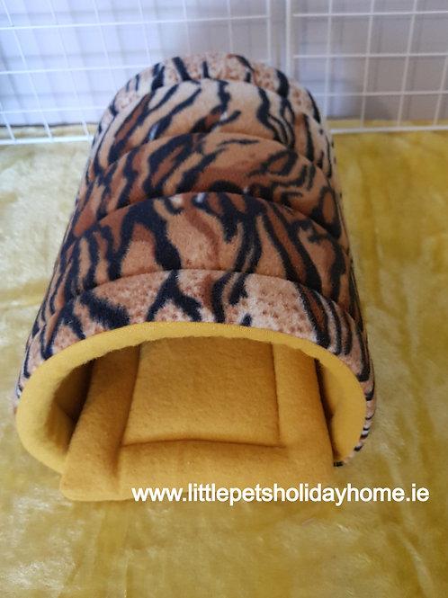 Tiger print -Fleece tunnel