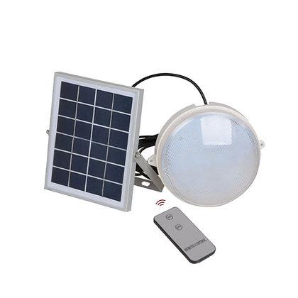 7W Led Solar Tortuga (con control remoto)
