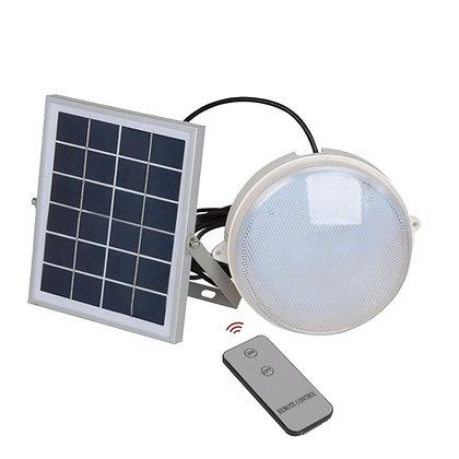 12W Led Solar Tortuga (con control remoto)