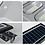 Thumbnail: Luz de calle solar 90W LED (con o sin sensor)