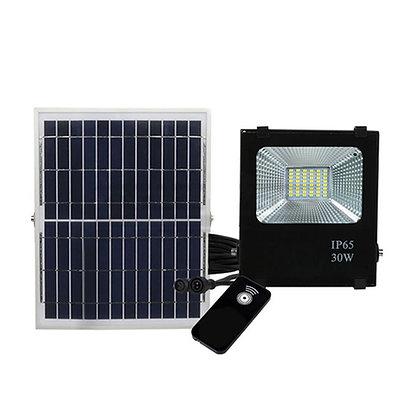 30W Reflector Led Solar (con control remoto)