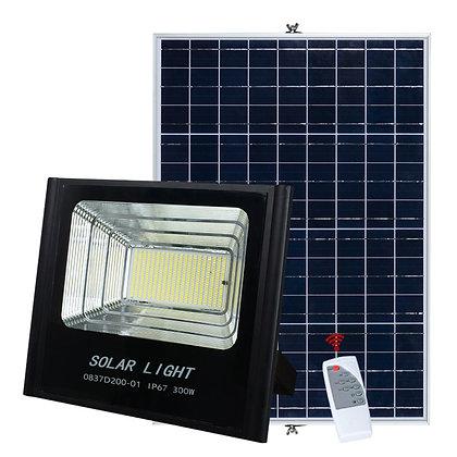300W Reflector Led Solar (con control remoto)