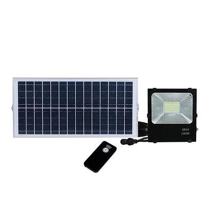 100W Reflector Led Solar (con control remoto)