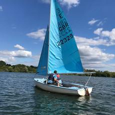 Maidenhead Sailing Club Enterprise