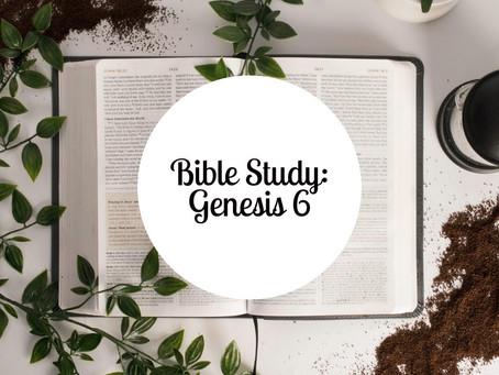 Bible Study: Genesis 6