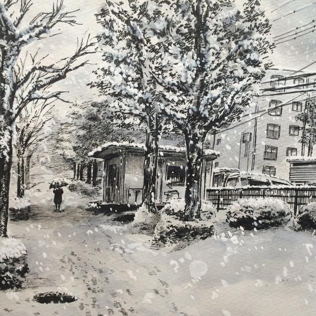 2018 雪の日