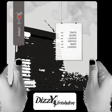 DIZZY - drink menu cocktails