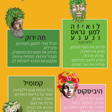 Habutke - greantea table postcard
