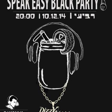DIZZY - speakeasy poster