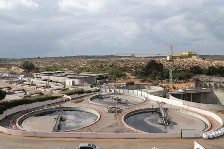 Ashkelon WWTP plant