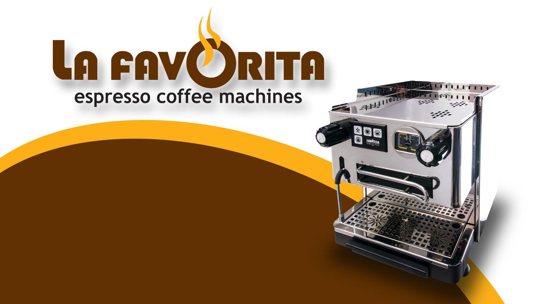 צילום מכונת קפה ועיצוב שער למצגת